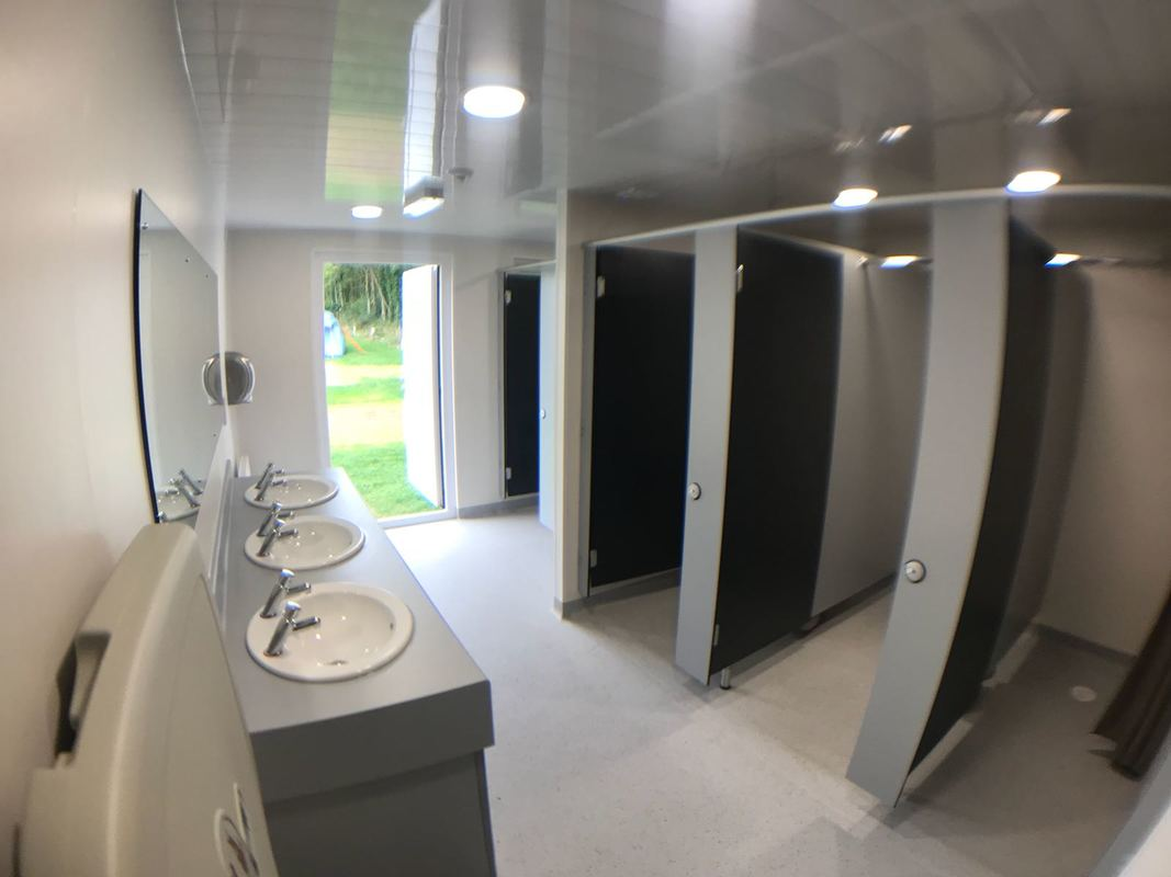 Toilet And Shower Blocks With Optional Accessible Facilities