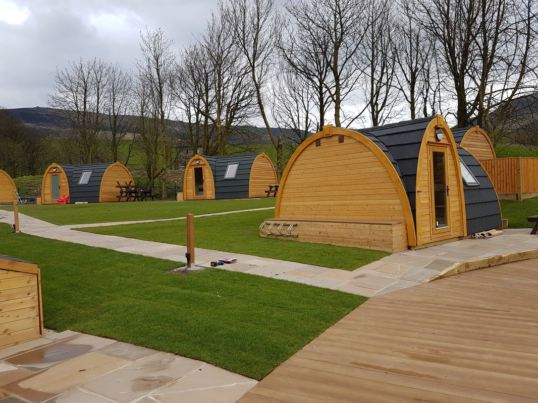 Glamping Pods at Dovestone Holiday Park