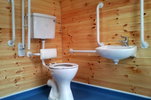 portable disabled toilets for sale, shower units